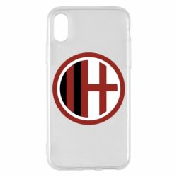 Чохол для iPhone X/Xs AC Milan