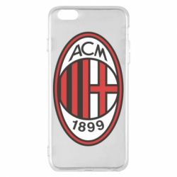 Чехол для iPhone 6 Plus/6S Plus AC Milan