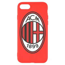 Чехол для iPhone 8 AC Milan