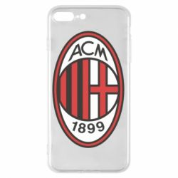Чехол для iPhone 8 Plus AC Milan