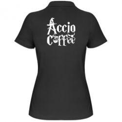 Женская футболка поло Accio Coffee
