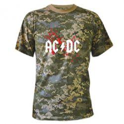 Камуфляжна футболка ACDC - FatLine