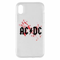 Чохол для iPhone X/Xs ACDC