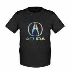Детская футболка Acura Голограмма