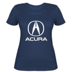 Жіноча футболка Acura logo 2