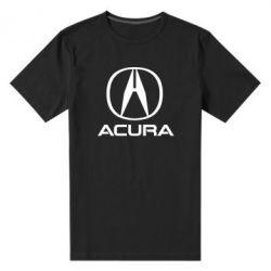 Чоловіча стрейчева футболка Acura logo 2