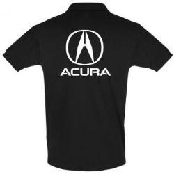 Футболка Поло Acura logo 2