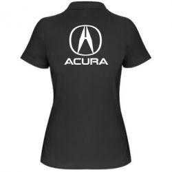 Жіноча футболка поло Acura logo 2