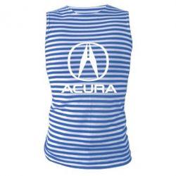 Майка-тільняшка Acura logo 2