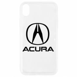Чохол для iPhone XR Acura logo 2