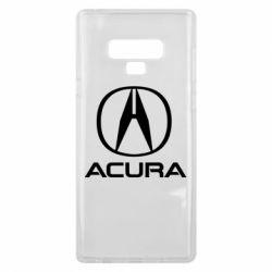 Чохол для Samsung Note 9 Acura logo 2