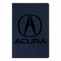 Блокнот А5 Acura logo 2