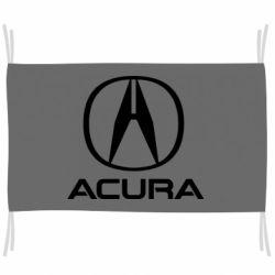 Прапор Acura logo 2