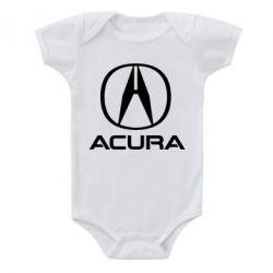 Дитячий бодік Acura logo 2