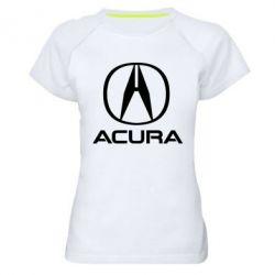 Жіноча спортивна футболка Acura logo 2