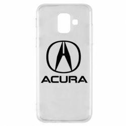 Купить Чехол для Samsung A6 2018 Acura logo 2, FatLine