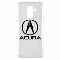 Купить Чехол для Samsung A6+ 2018 Acura logo 2, FatLine