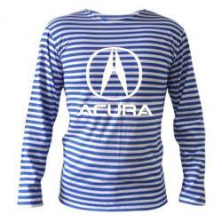 Тільник з довгим рукавом Acura logo 2