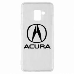 Чохол для Samsung A8+ 2018 Acura logo 2
