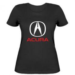 Женская футболка Acura - FatLine