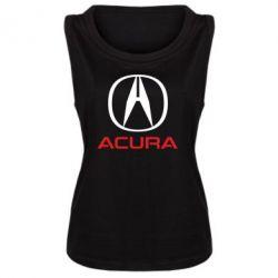 Женская майка Acura - FatLine
