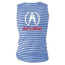 Майка-тельняшка Acura - FatLine