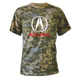 Камуфляжная футболка Acura - FatLine