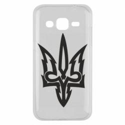 Чохол для Samsung J2 2015 Acute coat of arms of Ukraine