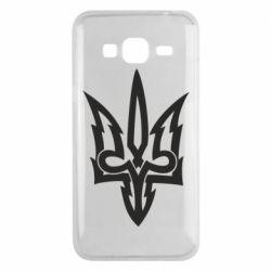 Чохол для Samsung J3 2016 Acute coat of arms of Ukraine