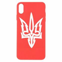 Чохол для iPhone Xs Max Acute coat of arms of Ukraine
