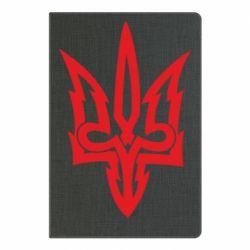 Блокнот А5 Acute coat of arms of Ukraine