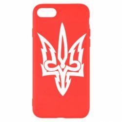 Чохол для iPhone 7 Acute coat of arms of Ukraine