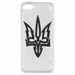 Чохол для iphone 5/5S/SE Acute coat of arms of Ukraine