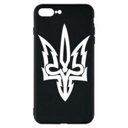 Чохол для iPhone 8 Plus Acute coat of arms of Ukraine