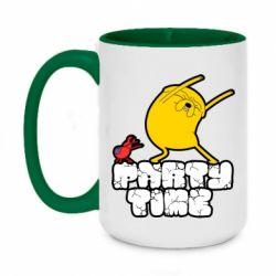 Кружка двоколірна 420ml Adventure time 2