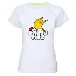 Жіноча спортивна футболка Adventure time 2