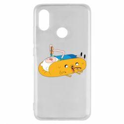 Чехол для Xiaomi Mi8 Adventure time 4