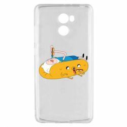 Чехол для Xiaomi Redmi 4 Adventure time 4