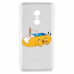 Чехол для Xiaomi Redmi Note 4 Adventure time 4