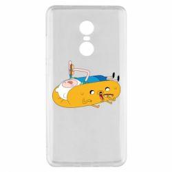 Чехол для Xiaomi Redmi Note 4x Adventure time 4