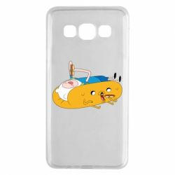Чехол для Samsung A3 2015 Adventure time 4