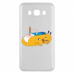 Чехол для Samsung J5 2016 Adventure time 4