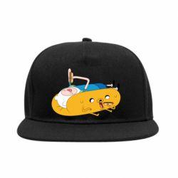 Снепбек Adventure time 4