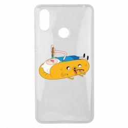Чехол для Xiaomi Mi Max 3 Adventure time 4