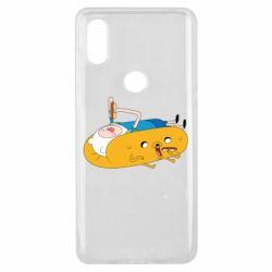 Чехол для Xiaomi Mi Mix 3 Adventure time 4