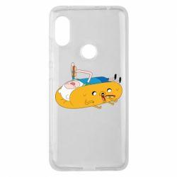 Чехол для Xiaomi Redmi Note 6 Pro Adventure time 4