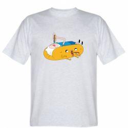 Мужская футболка Adventure time 4