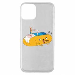 Чехол для iPhone 11 Adventure time 4