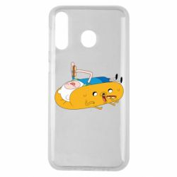 Чехол для Samsung M30 Adventure time 4