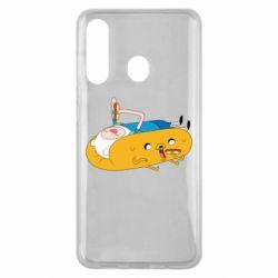 Чехол для Samsung M40 Adventure time 4